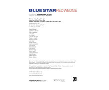 Blue Star Red Wedge