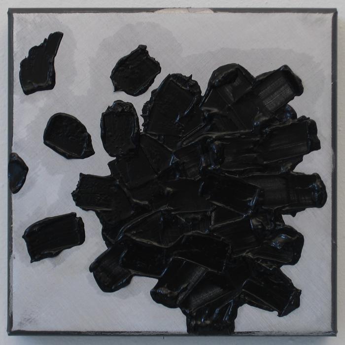 Untitled (Black Leaf)