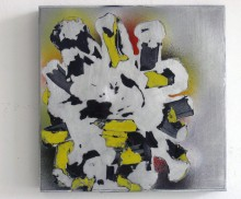 Untitled (Yellow Spray)