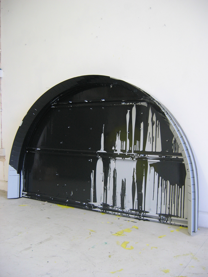 Untitled (Black Arc)
