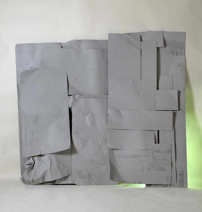 Untitled (Construction Green) 2