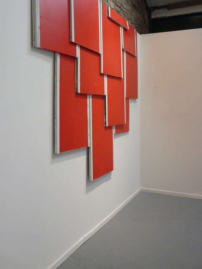 Untitled (Stalactite-Red) 2010